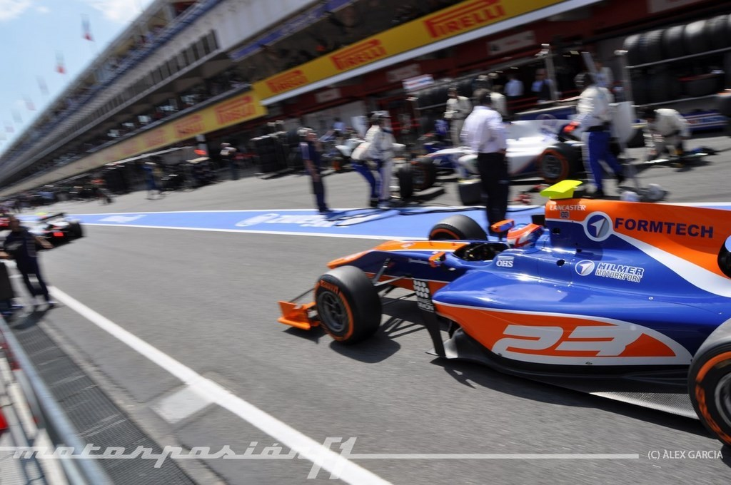 Foto de GP2 2013 Barcelona (129/138)