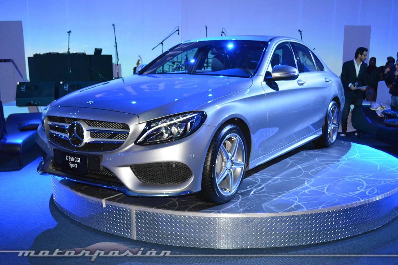 Foto de lanzamiento mercedes benz clase c 2015 3 12 for Mercedes benz mx