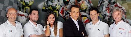 Equipo de Mediaset para la temporada 2012