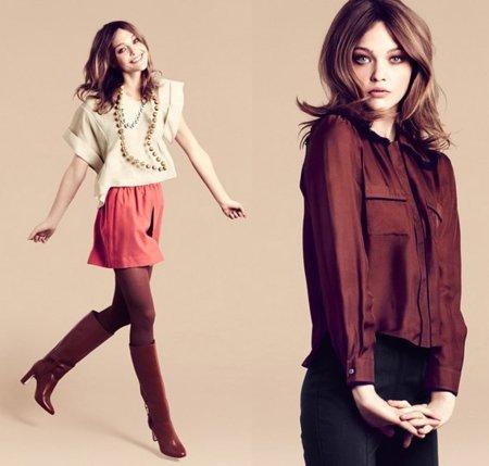 """H&M campaña Otoño-Invierno 2011/2012: Sasha Pivovarova es la """"mujer elegante"""""""