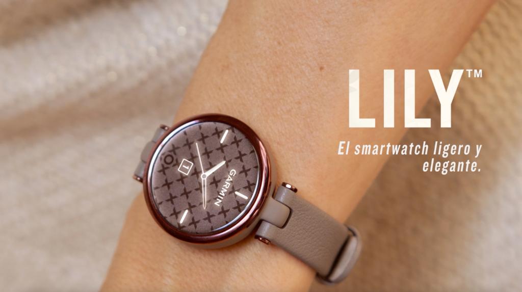 Garmin lanza Lily, su nuevo smartwatch elegante con un toque deportivo