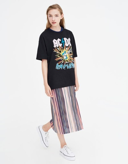 Camiseta Acdc Pull Bear