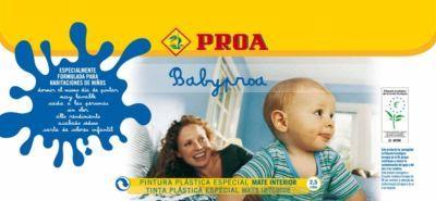 BabyProa: una pintura pensada para los bebés y las personas sensibles