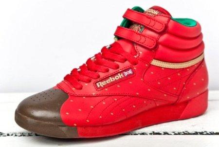 Zapatillas Reebok para San Valentín: fresa y chocolate