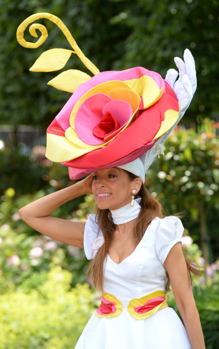 Tracy Rose Ascot sombreros 2014