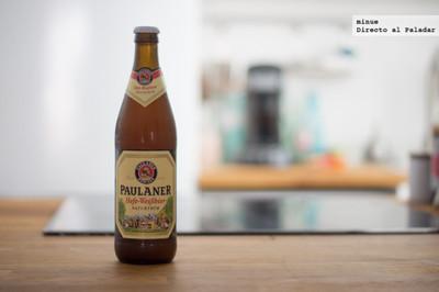Paulaner Hefe-Weißbier. Cata de cerveza alemana