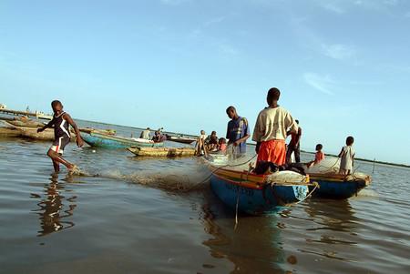 Pescadores Senegal