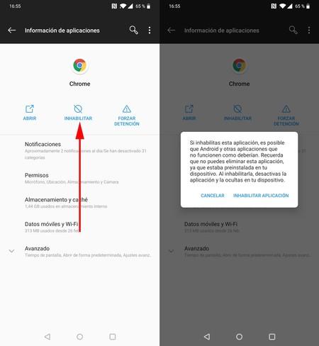 Webview Sistema Android 3