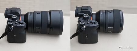 Sony 50 Mm F12 Gm Comparacion