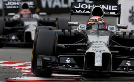 Kevin Magnussen 2014 F1 Mónaco
