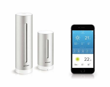 Netatmo actualiza su Estación Meteorológica Inteligente y ahora es compatible con el ecosistema HomeKit de Apple