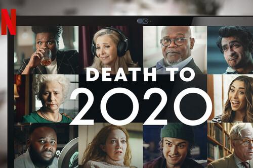 'A la mierda el 2020': el creador de 'Black Mirror' se burla de un año horrible en Netflix con una inofensiva gamberrada