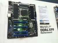 """MSI se prepara para Intel """"Haswell-E"""", muestra prototipo de motherboard X99"""