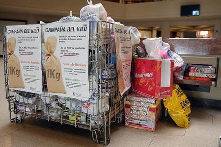 Donación de productos a una ONG