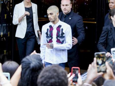 Dos looks más de Zayn Malik en la Semana de la Moda de París: ¿está retando a Harry Styles para quitarle el trono del estilo juvenil?