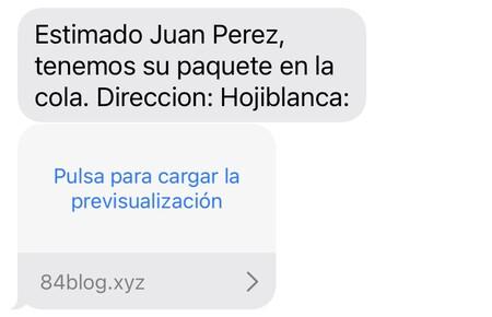 """""""Estimado Juan Perez, tenemos su paquete en la cola. Direccion: Hojiblanca"""": la estafa SMS de FedEx ahora llega con nuestro nombre"""