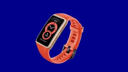 Llévate la nueva pulsera Huawei Band 6 más barata de oferta de lanzamiento en la web oficial: 53 euros con este cupón