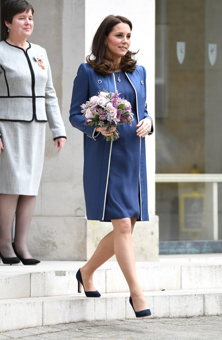 Kate Middleton Total Look Azul 2