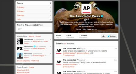 Associated Press publicará en su cuenta tweets patrocinados por Samsung