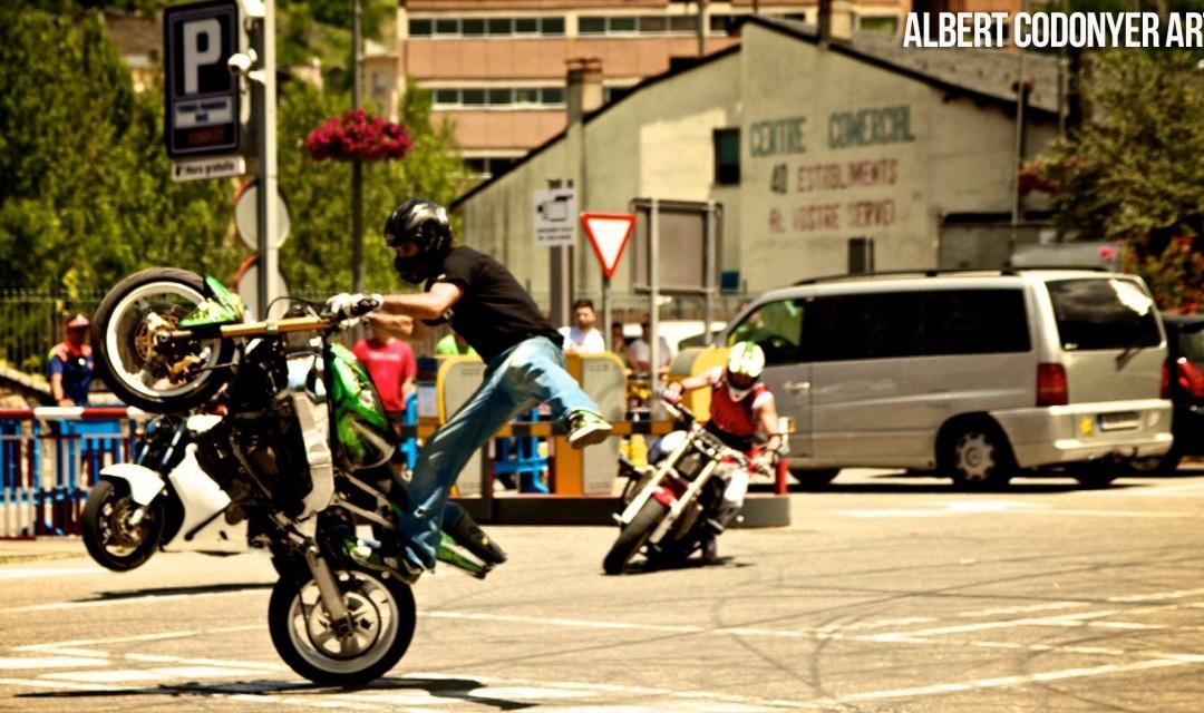 Éxito del primer campeonato de Freestyle Stunt Riding Encamp 2011