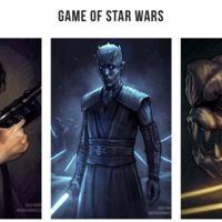¿Qué pasaría si los personajes de Juego de Tronos fueran parte del universo Star Wars?