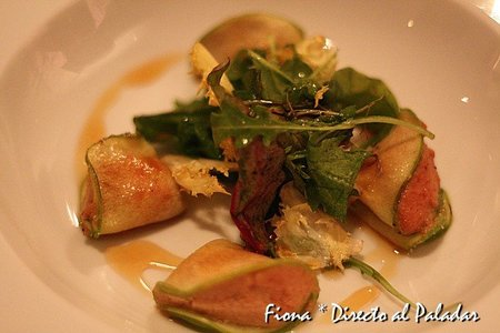 Raviolis de manzana