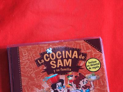 La cocina de Sam y su familia. Libro de recetas para niños