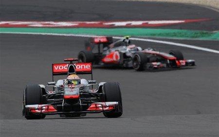GP de Alemania F1 2011: Lewis Hamilton se ve más competitivo en carrera que en clasificación