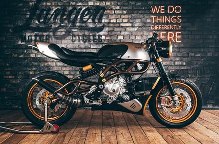 Langen Two Strokes: una custom con motor V2 de dos tiempos y detalles en pan de oro, por 30.000 euros