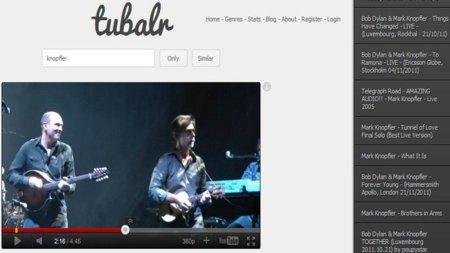 Tubalr, escucha música desde YouTube de forma rápida y sencilla