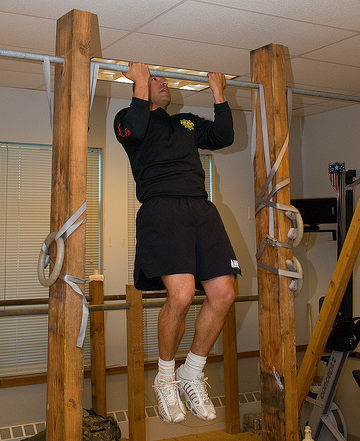 El mejor ejercicio de espalda de 2009: dominadas
