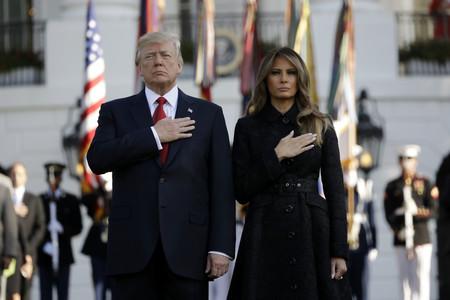 Este es el vestido (¿o es trench?) de Melania Trump que enamoró a medio planeta