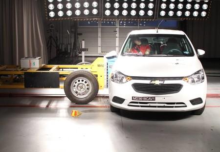 El Chevrolet Aveo sube su calificación a tres estrellas en Latin NCAP