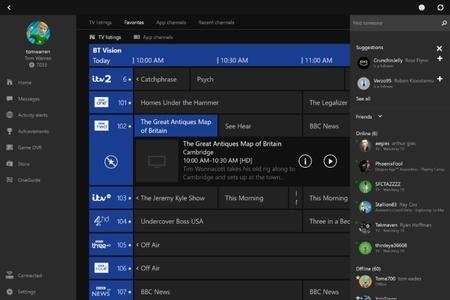 La aplicación de Xbox para Windows 10 se actualiza añadiendo las funciones de SmartGlass y OneGuide
