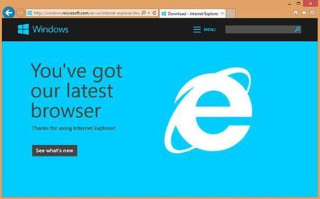 Microsoft actualiza Internet Explorer 11 con mejoras en la barra de direcciones