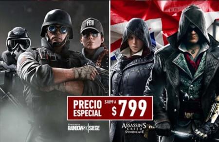 Ubisoft anuncia oferta en México con Assassin's Creed Syndicate y Tom Clancy's Rainbow Six Siege