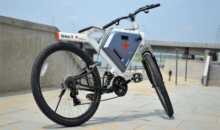 Una bicicleta eléctrica diseñada pensando en la Cruz Roja