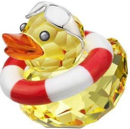 ¡Patos al agua con Swarovski Sunny Sam!