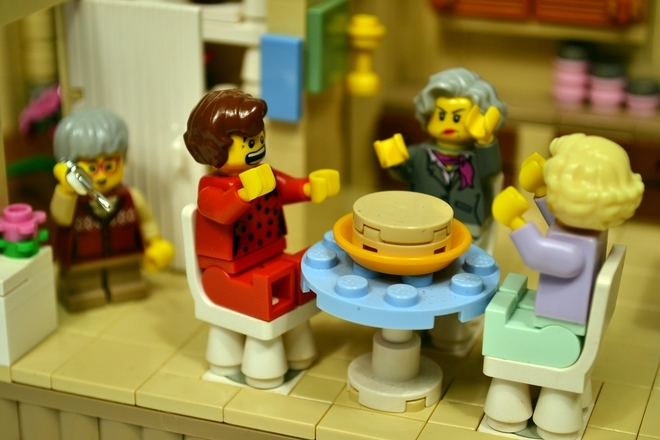 Foto de La versión LEGO de 'Las chicas de oro' (16/19)