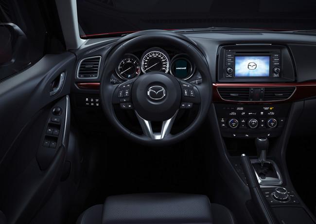 Mazda6, vista interior