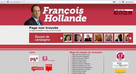 El candidato socialista Francois Hollande retira lo dicho sobre Hadopi