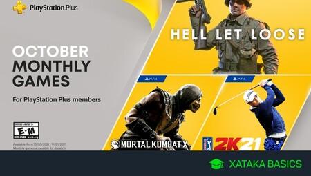 Juegos gratis de PS4 y PS5 en octubre 2021 para PlayStation Plus