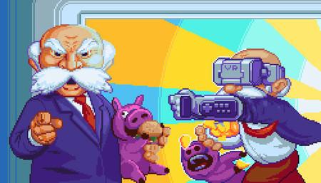 Devolver Digital se pasa a lo retro y publicará el videojuego Fork Parker's Crunch Out en Super Nintendo