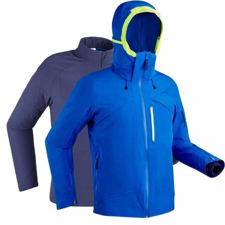 Chaqueta De Esqui Y Nieve Hombre Wedze Ski P 980 Azul