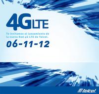 Por fin red 4G/LTE con Telcel