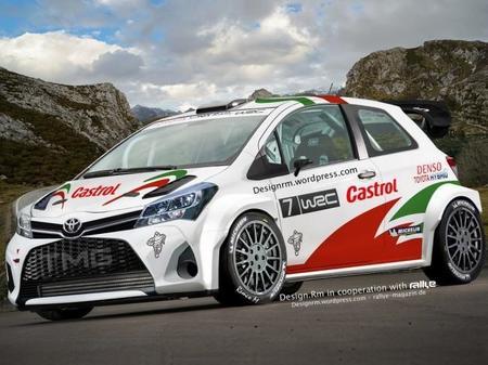 Así serían las versiones World Rally Car del Toyota Yaris y del Opel Corsa