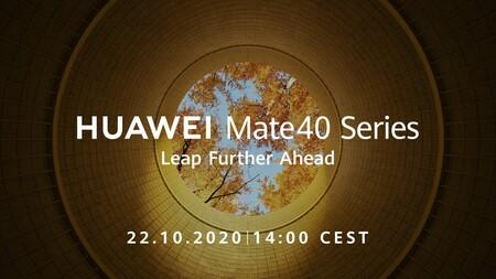 Huawei Mate 40 Series: los últimos smartphones flagship con chipsets Kirin se presentarán el 22 de octubre