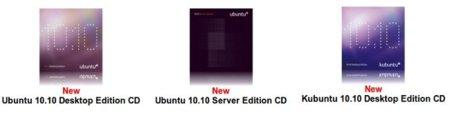 Disponible el envío de Ubutu 10.10