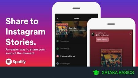 Cómo compartir tu música de Spotify en las Historias de Instagram