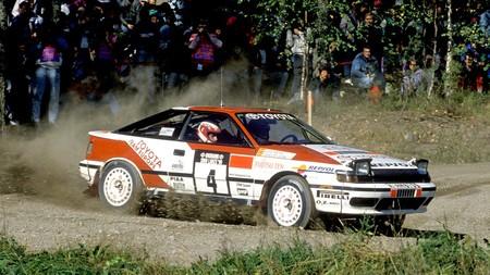 Carlos Sainz Luis Moya 1990 Finnland